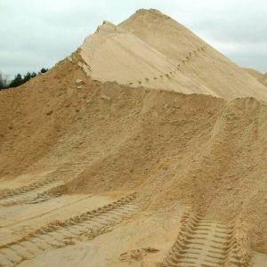 Строительный песок купить в Москве