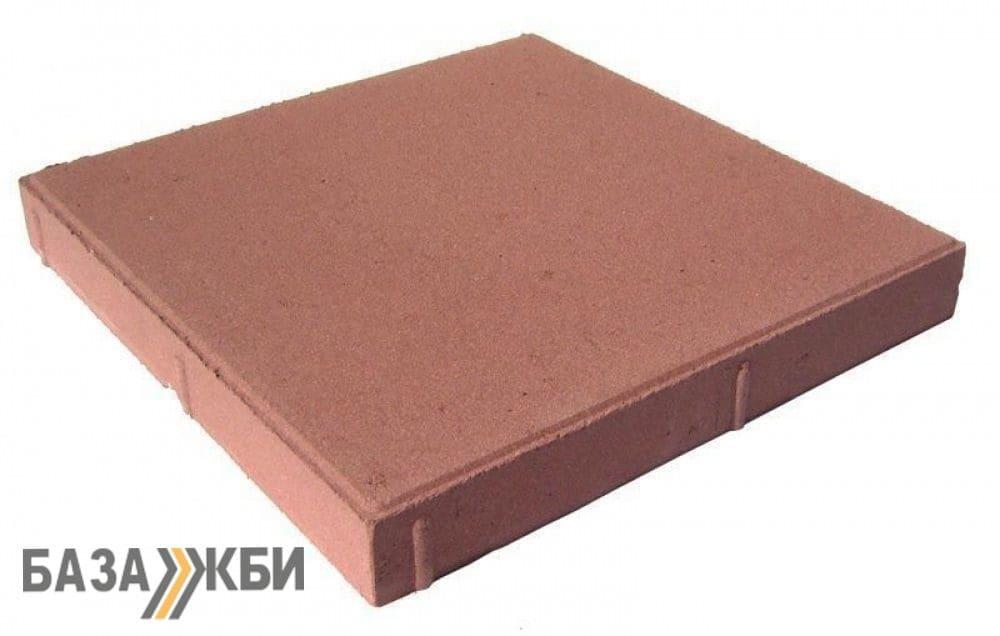 Тротуарная плитка 40 40 цветная гладкая